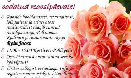 Kutse roosipäevale