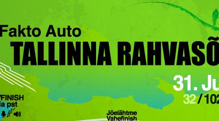Kostiveret läbiv Fakto Auto Tallinna rahvasõit