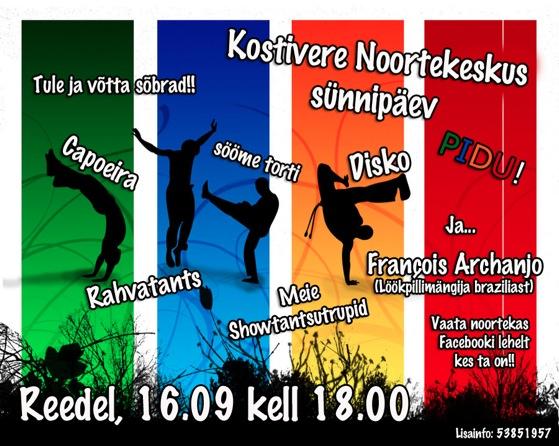 Kostivere noortekeskuse sünnipäev / 16.12!