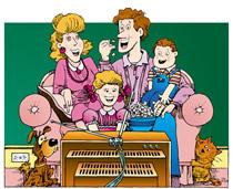 """Kogupereüritus """"Õnnelik laps, õnnelikud vanemad""""."""
