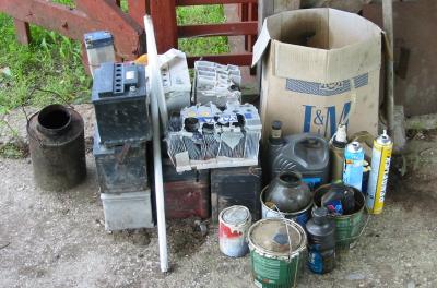 4. mail toimub ohtlike jäätmete kogumisring!
