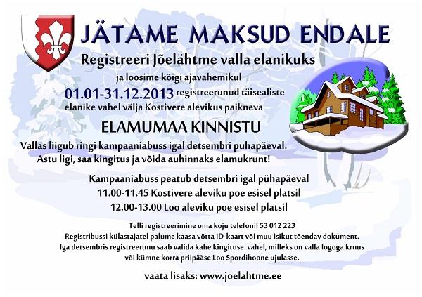 maksukampaania 2013