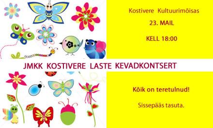 JMKK Kostivere laste kevadkontsert
