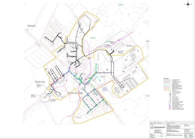Valla ühisveevärgi ja –kanalisatsiooni arendamise kava aastateks 2009-2020 muudatus (Kostivere alevik).