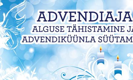 Advendiaja alguse tähistamine