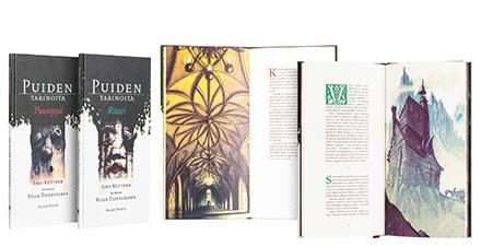 """Raamatukogu näitus """" Soome kaunimad raamatud 2014″"""