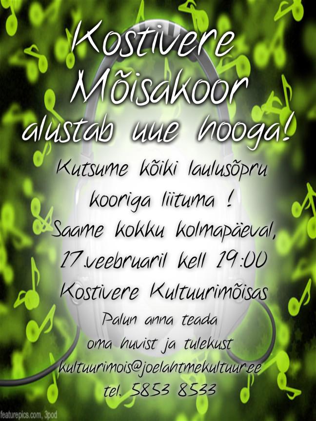 Mõisakoori lauluproov @ Kostivere Kultuurimõis