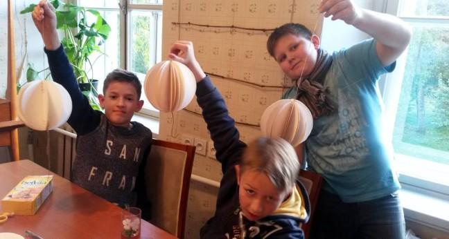 Noored dekoraatorid @ Kostivere Kultuurimõis