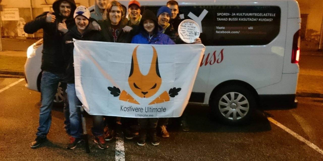 Kostivere Ultimate võistkond Eesti sisemeistrivõistlusel 5-ndad!