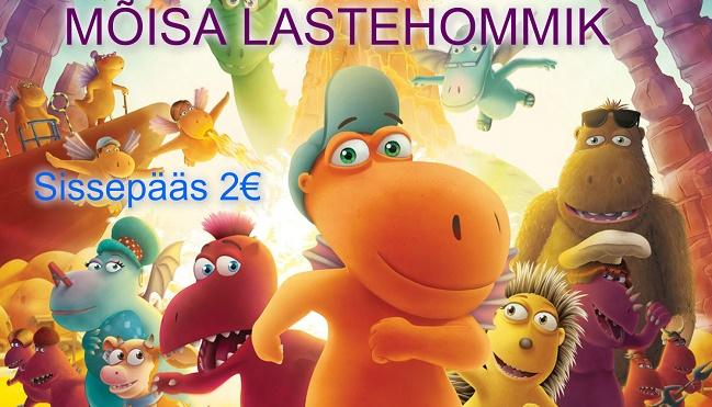 """Mõisa lastehommik """"Väike draakon Kokosaurus"""""""