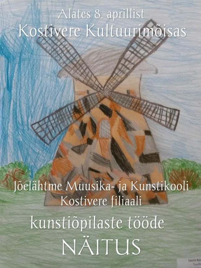 kunstiõpilaste tööde näitus