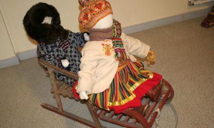 """Kostivere Kultuurimõisa galeriis näitus """"Vanaaja talverõõmud"""""""