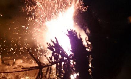 Kolmekuningapäeva kuuskede põletamine / 7.01.107