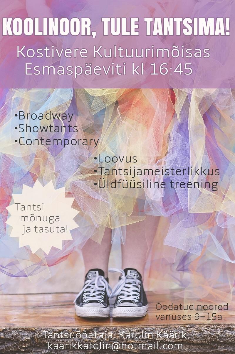 Noorte tantrenn @ Kostivere Kultuurimõis