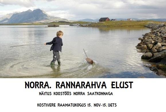 Näitus Norra rannarahva elust @ Kostivere Raamatukogu