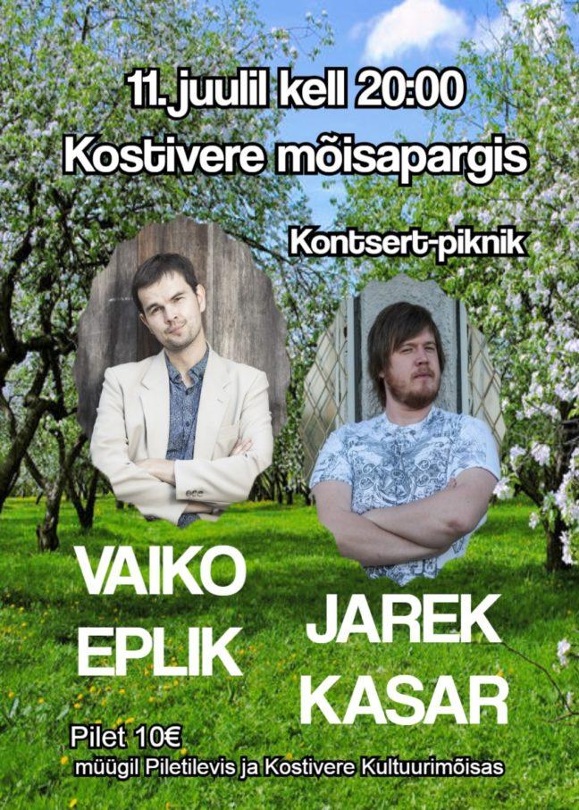 Mõisapargi kontsert-piknik @ Kostivere Kultuurimõis