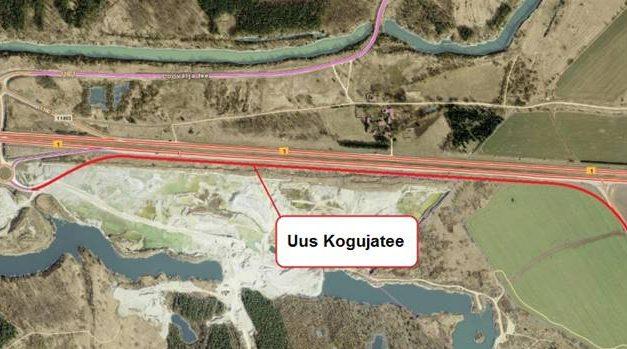 Muudatused Kostivere teelt Tallinna-Narva mnt. mahasõidul alates 12. juuni 2018
