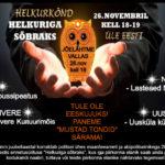 """26.novembril kell 18 helkurikõnd """"Helkuriga sõbraks"""""""