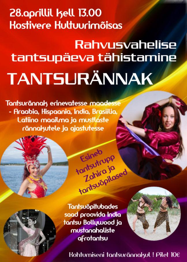Rahvusvahelise tantsupäeva tähistamine @ Kostivere Kultuurimõis