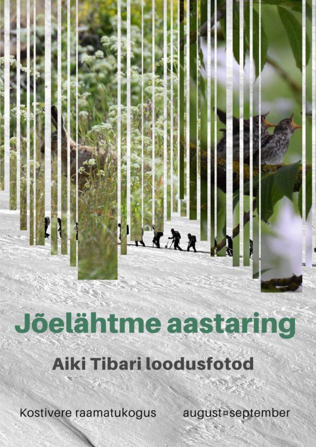 """Aiki Tibari loodusfotod """"Jõelähtme aastaring"""" @ Kostivere raamatukogu"""